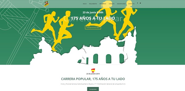Carrera 175 aniversario Guardia Civil