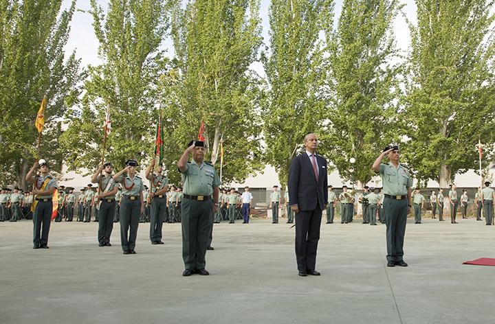 El Director General de la Guardia Civil inaugura el curso 2015-16 en la Academia de Oficiales de Aranjuez