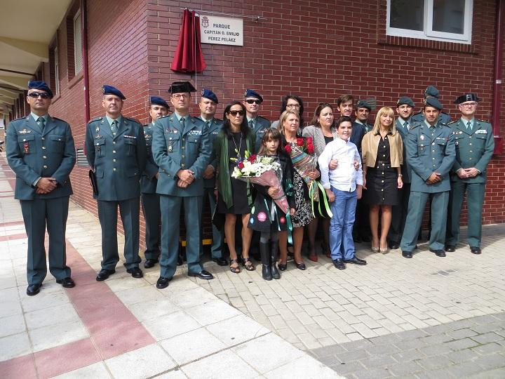 El Ayuntamiento de San Andrés de Rabanedo (León) homenajea a los tres guardias civiles fallecidos en accidente de helicóptero