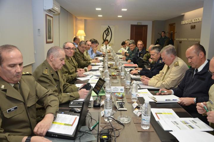 Reunión de Directores de Enseñanza Militar a la Unidad de Acción Rural (UAR)