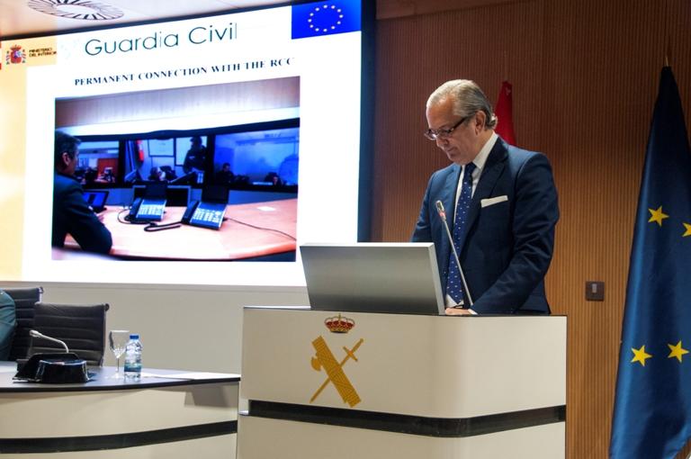 """El Director General de la Guardia Civil ha clausurado el Máster de FRONTEX """"Gestión Estratégica de Fronteras"""""""