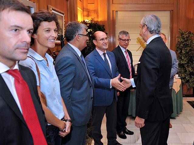 El Director General recibe a Consejeros y Agregados del Ministerio del Interior en misiones diplomáticas de España