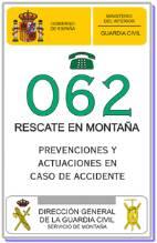 Rescate en Montaña, Prevenciones y actuaciones en caso de accidente