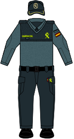 Uniforme de la Guardia Civil