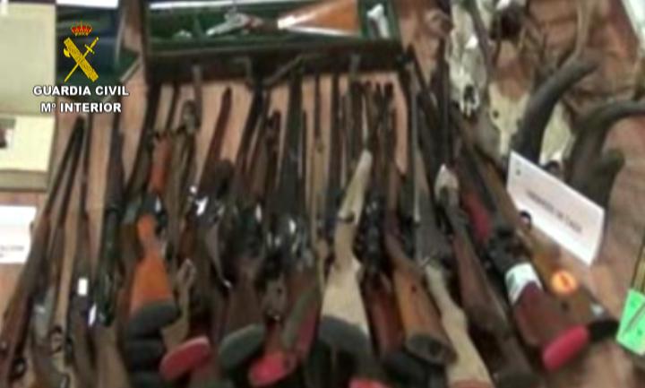 guardia civil intervencion de armas:
