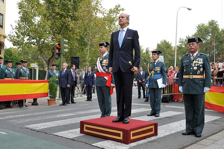 El Director General de la Guardia Civil preside los actos de celebración de la Patrona del cuerpo en Sevilla