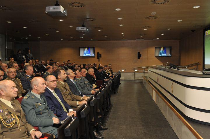 S.A.R. El Príncipe de Asturias preside el acto de inauguración de las nuevas instalaciones del Centro de Operaciones de la Guardia Civil