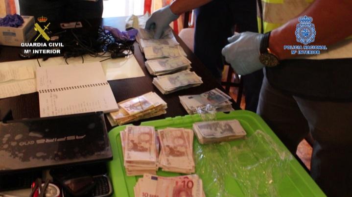La guardia civil y la polic a nacional desarticulan un grupo organizado dedicado al tr fico de - Oficina trafico elche ...