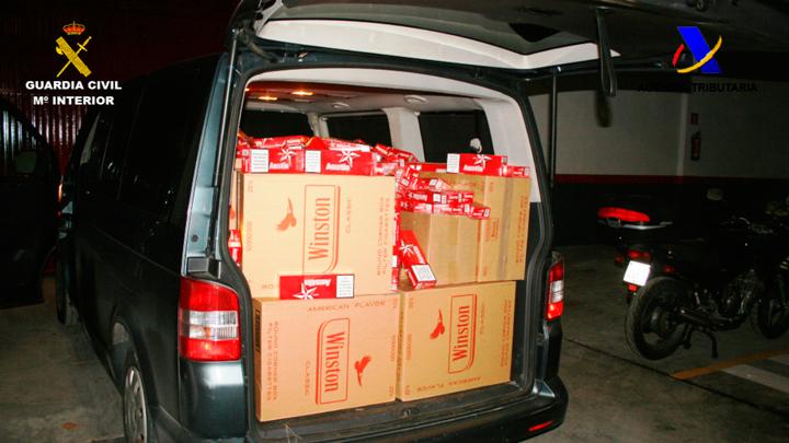 Detenidos 23 integrantes de una organización dedicada al contrabando de tabaco procedente de Andorra