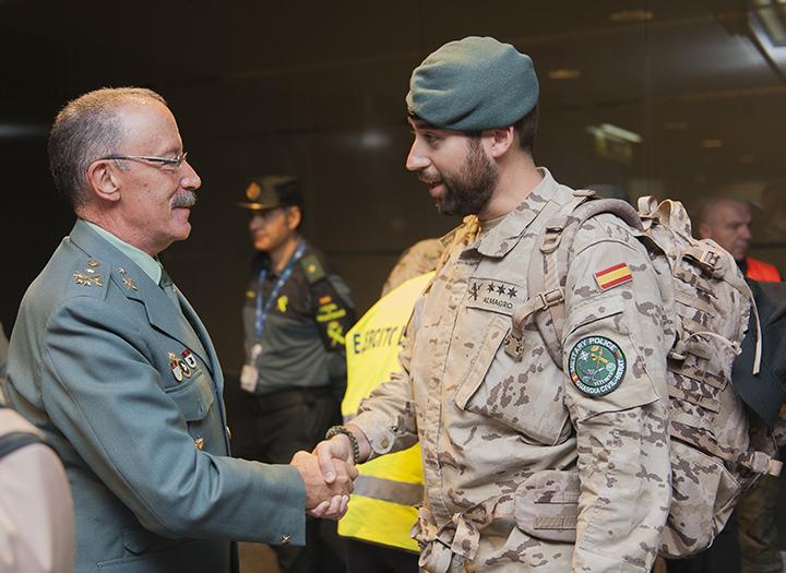 La Guardia Civil finaliza su misión de asesoramiento a la Policía afgana