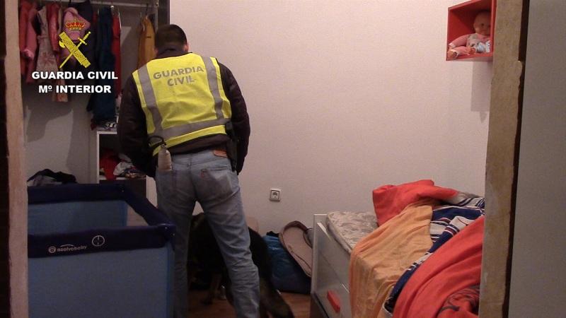 La Guardia Civil detiene en Ceuta a un hombre por realizar labores de difusión de propaganda y enaltecimiento del DAESH
