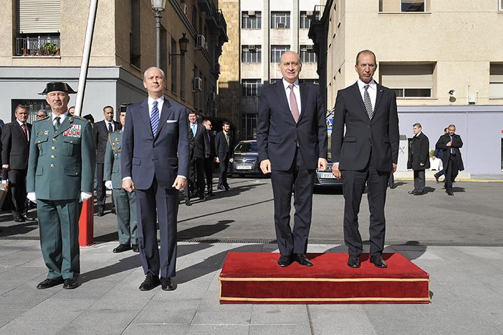 Los ministros de interior de espa a y marruecos visitan for Ministros de espana