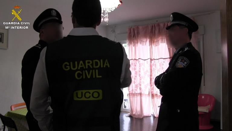La Guardia Civil y la Policía de China desmantelan una red de trata de seres humanos y libera a 29 mujeres que eran obligadas a ejercer la prostitución
