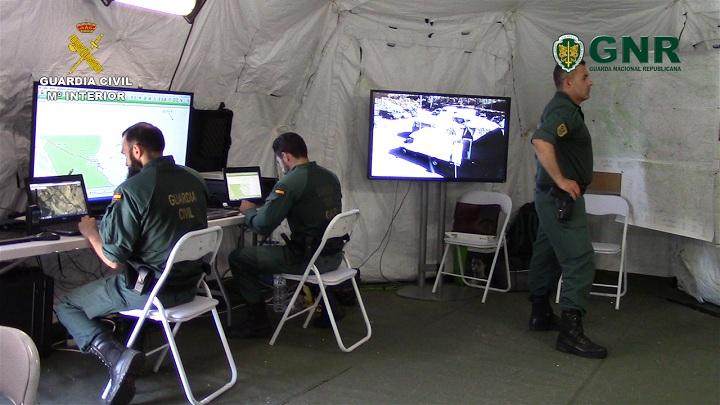 La Guardia Civil y la Guarda Nacional Republicana de Portugal realizan un ejercicio antiterrorista conjunto y coordinado para impermeabilizar la frontera hispano-portuguesa