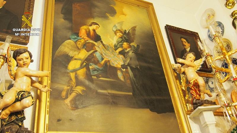 La Guardia Civil recupera cerca de 10.000 piezas de gran valor histórico y cultural en Bullas (Murcia)