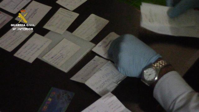 La Guardia Civil detiene a 40 personas integrantes de una organización dedicada a la clonación de tarjetas de crédito