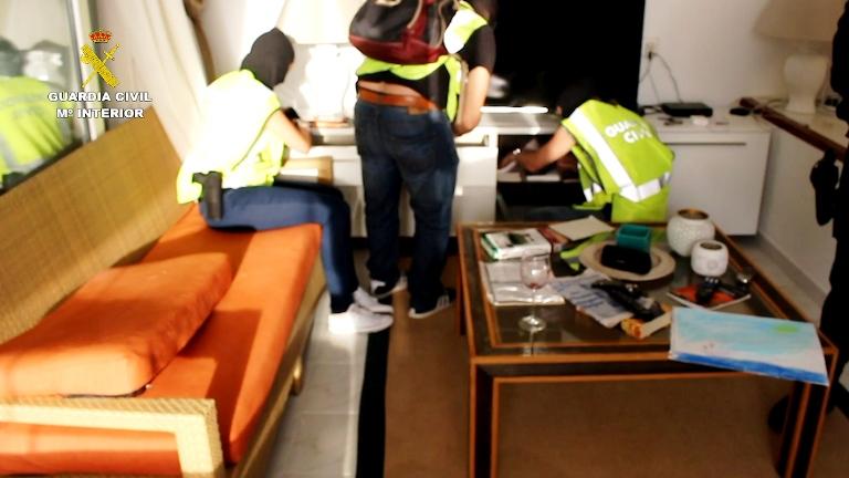 La Guardia Civil desarticula una organización criminal de origen ruso asentada en Cataluña