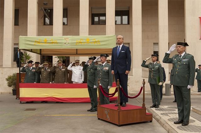 El Director General preside la Toma de Posesión del nuevo responsable de la Guardia Civil en Melilla