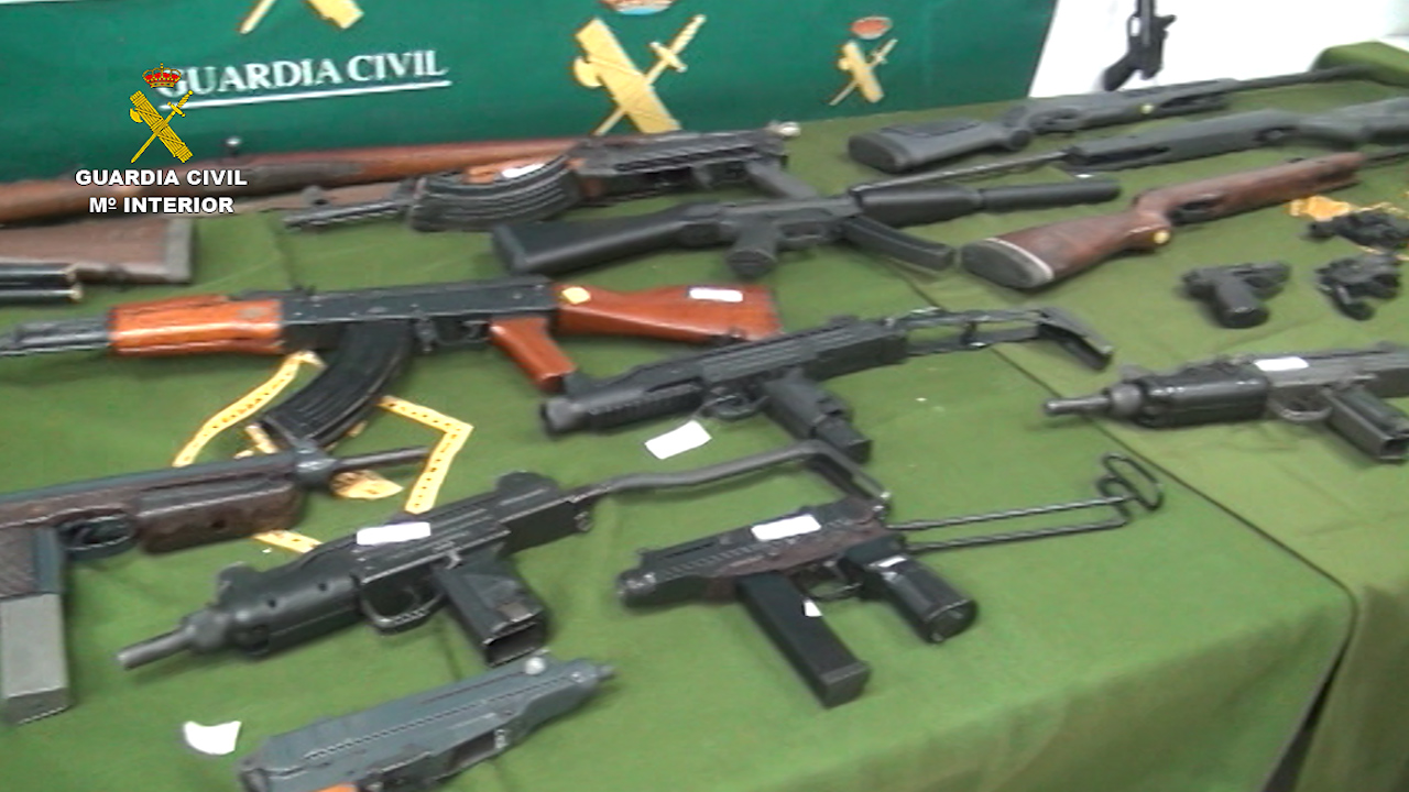 La Guardia Civil decreta nueva legislación para el uso de armas lúdico-deportivas.