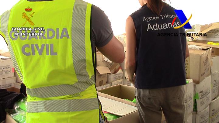 Intervenidos en llles Balears artículos falsificados por valor de 350.000 euros