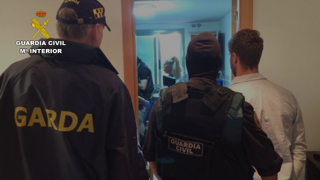 La Guardia Civil detiene a un traficante de drogas y armas por un asesinato ocurrido en Málaga en el verano de 2015
