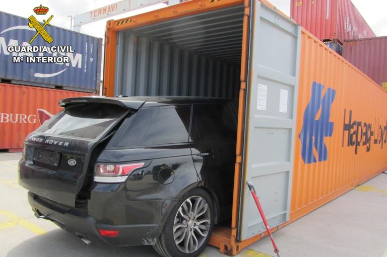 Desarticulada una red internacional en Pontevedra dedicada al robo de vehículos de lujo por toda Europa
