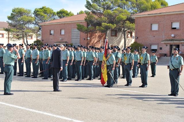 El Director General de la Guardia Civil inaugura el curso académico de la Academia de Guardias y de Suboficiales de Baeza
