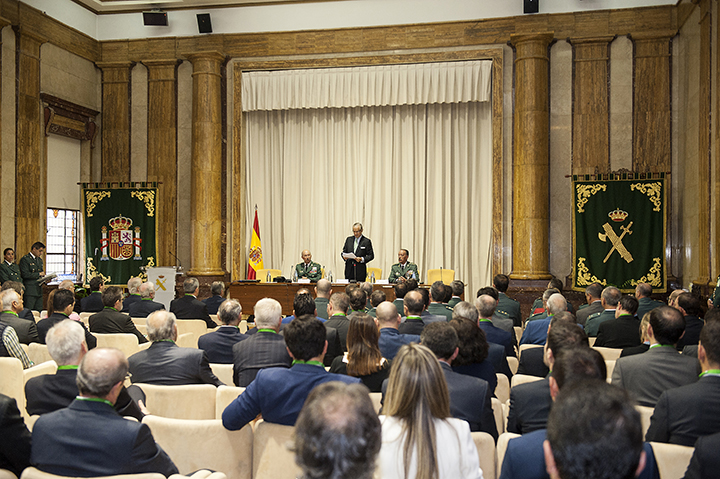 "El Director General de la Guardia Civil inaugura la III Jornada ""Guardia Civil-Empresa"" y entrega los Premios ""Duque de Ahumada"" a la Seguridad Corporativa"