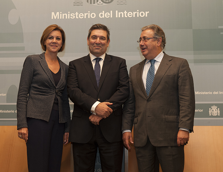 El ministro del interior ha presidido el acto de toma de for Gabinete del ministro del interior