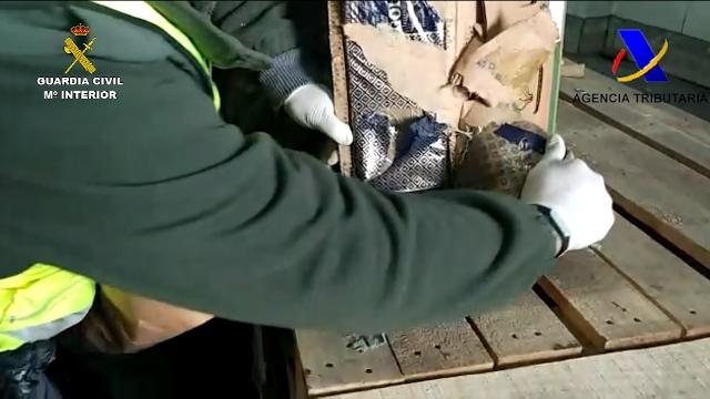 La Guardia Civil desarticula una organización criminal dedicada al tráfico de drogas