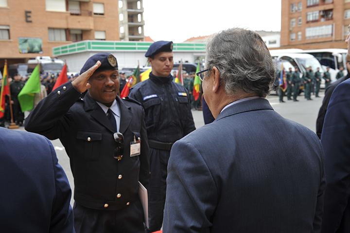El ministro del Interior clausura en Logroño un ejercicio internacional en el que han participado agentes de 24 países