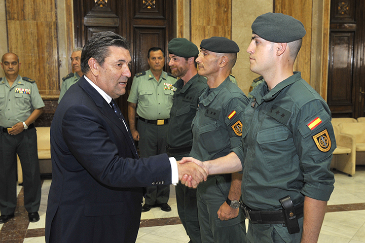 El Director General de la Guardia Civil despide al segundo contingente que se desplegará en Iraq