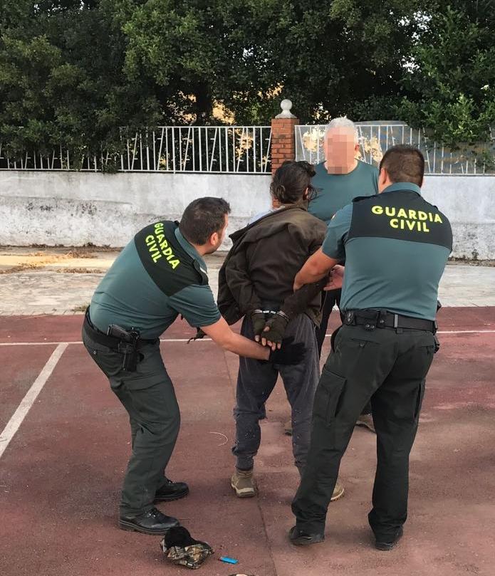La Guardia Civil detiene al autor de los disparos y lesiones a tres personas en La Codosera (Badajoz)