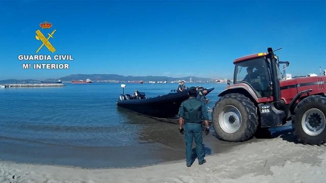 La Guardia Civil detiene a 25 personas pertenecientes a una organización dedicaba a prestar servicios de alijo y transporte de droga a otras organizaciones
