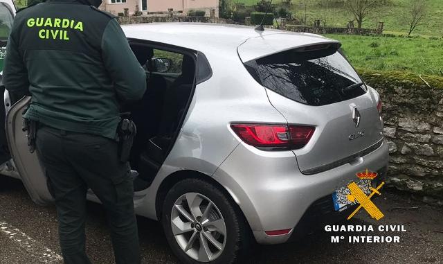 La Guardia Civil encuentra en un eucaliptol de Cantabria a un niño de 4 años sustraído en Portugal por su padre
