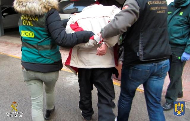 La Guardia Civil detiene a un peligroso fugitivo huido de la justicia rumana