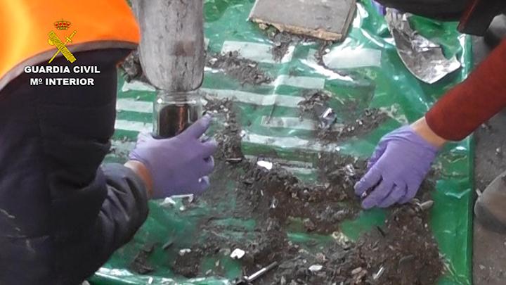 La Guardia Civil desmantela una trama que gestionaba irregularmente toneladas de residuos peligrosos en Vizcaya
