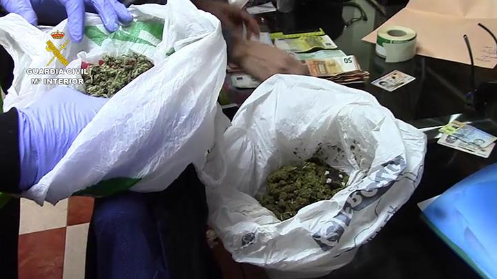 """La Guardia Civil detiene a 65 personas pertenecientes a cuatro clanes diferentes dedicados al cultivo """"Indoor"""" de marihuana"""