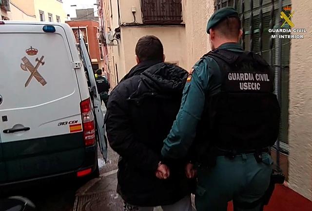 La Guardia Civil desarticula un peligroso grupo criminal especializado en atracos a representantes de joyería