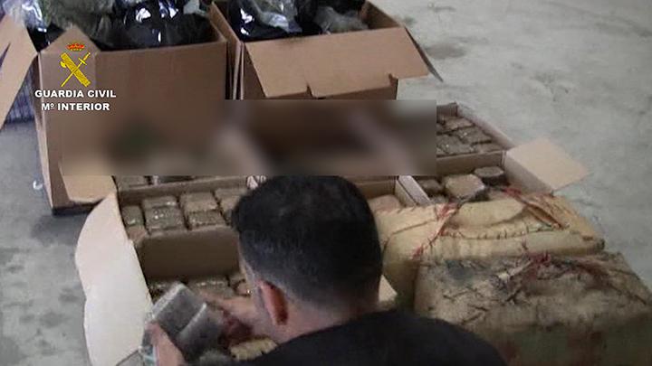 La Guardia Civil desarticula una organización criminal internacional dedicada al tráfico de drogas y al blanqueo de capitales