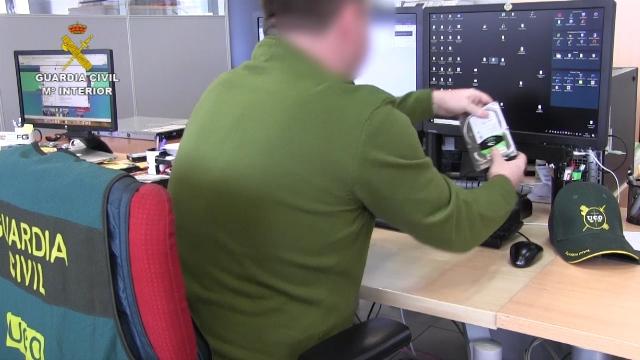La Guardia Civil desmantela las principales estructuras de piratería en internet