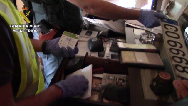 La Guardia Civil desarticula una organización criminal internacional compuesta por 11 personas dedicada al transporte de drogas para otros grupos delictivos