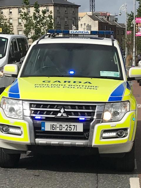 El vehículo del Proyecto Edward finaliza su recorrido en la Dirección General de la Guardia Civil
