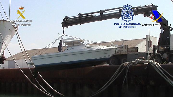 Desarticulada una organización de narcotraficantes que introducía hachís en embarcaciones recreativas