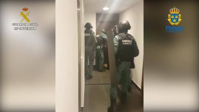 La Guardia Civil detiene a un peligroso individuo buscado internacionalmente por su pertenencia a un conocido grupo criminal