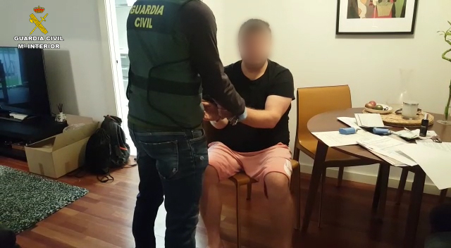 La Guardia Civil desarticula la rama del