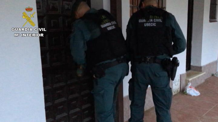La Guardia Civil desarticula una organización delictiva dedicada al blanqueo de capitales procedente de la droga