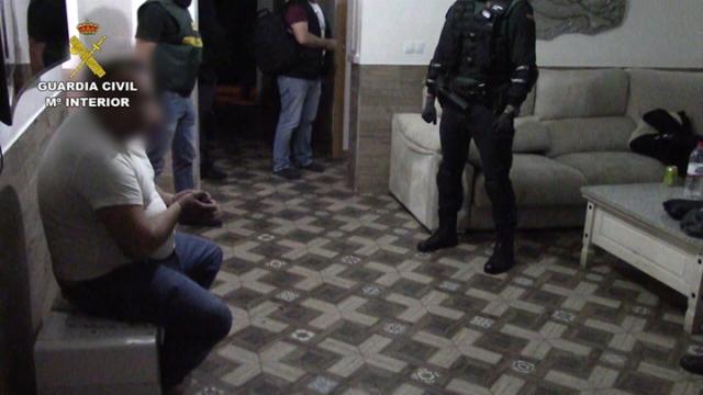 La Guardia Civil desarticula una  organización delictiva especializada en falsificación de moneda