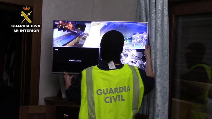 La Guardia Civil culmina dos operaciones contra el narcotráfico en Andalucía