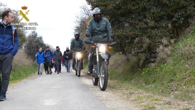 La Guardia Civil realiza más de 30.000 actuaciones relacionadas con la seguridad del Camino de Santiago